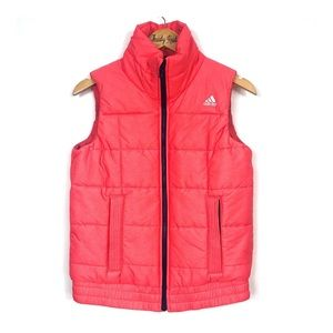 ADIDAS Coral Puffer Vest Small